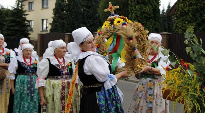 Katowickie Dożynki 2018 po sąsiedzku w Podlesiu