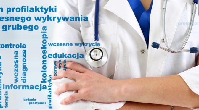 Bezpłatne badanie i szkolenie ramach Programu profilaktyki i wczesnego wykrywania raka jelita grubego