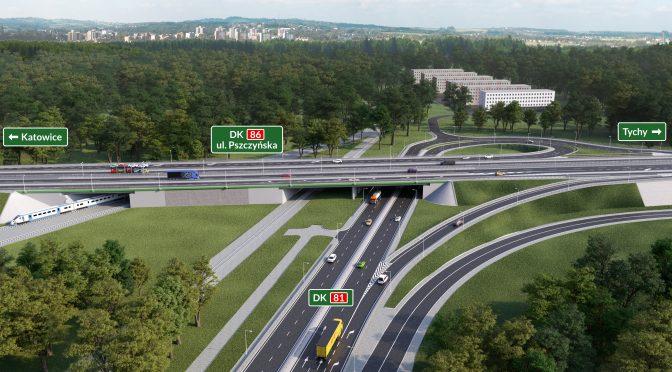 Przebudowa DK81 – rusza największa inwestycja drogowa w Katowicach od 13 lat