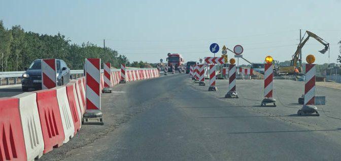 Od października nowe objazdy na DK 86 w Giszowcu.